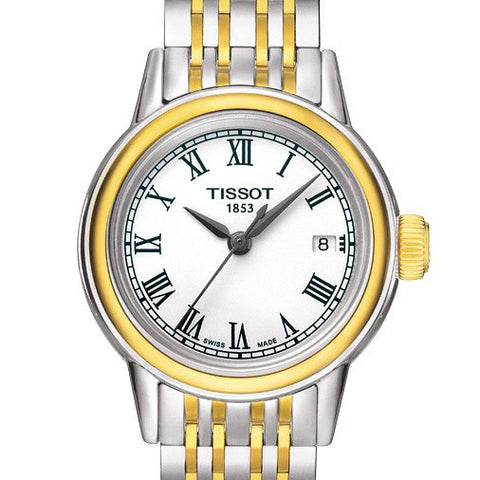 Tissot Ladies Carson Quartz Two-Tone 28.5MM Watch T0852102201300