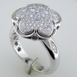 Pasquale Bruni Bon Ton Diamond Clover Flower Ring