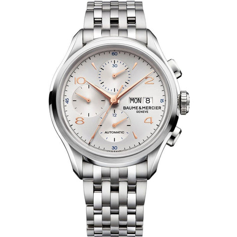 Baume & Mercier Clifton Automatic Chronograph Men's Watch MOA10130 43mm