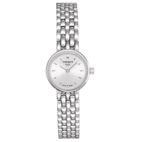 Tissot Ladies Lovely Quartz Silver Dial 19.5MM WatchT0580091103100