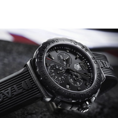 TAG Heuer Formula 1 Black Rubber Strap Chronograph 42mm Watch CAU1114