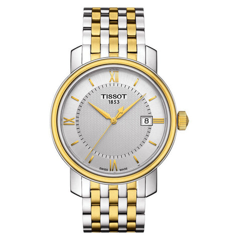Tissot 40MM T-Classic Bridgeport Quartz  Two-Tone Watch T0974102203800