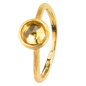 Marco Bicego Jaipur Citrine 18K Yellow Gold Ring AB471 QG01 Y
