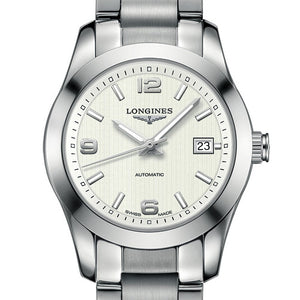 Longines Conquest Classic Automatic Silver Stainless Steel Watch 29MM L22854766