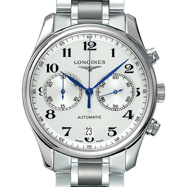 Longines Master Automatic Chronograph Silver Dial Stainless Steel 40MM L26294786