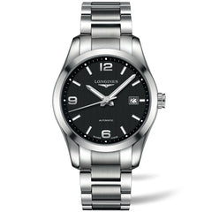 Longines Conquest Classic Automatic Black Stainless Steel 40MM L27854566