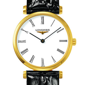 Longines La Grande Classique White Dial PVD Watch 24MM L42092112