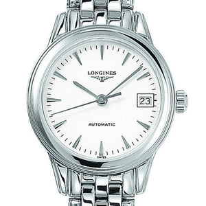 Longines Flagship Automatic White Dial Stainless Steel Watch 26MM L42744126