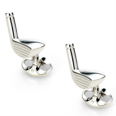 Deakin & Francis Golf Club Silver Cufflinks C0165X0001