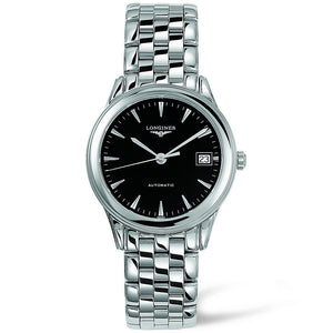 Longines Flagship Automatic Black Dial Stainless Steel Watch 35MM L47744526