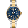 TAG Heuer Formula 1 Steel & Plated Yellow Gold 41mm Blue Watch WAZ1120.BB0879