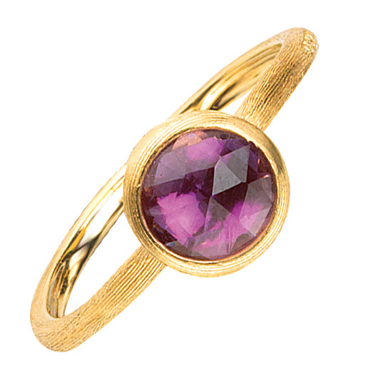 Marco Bicego Jaipur Amethyst 18K Yellow Gold Ring AB471 AT01 Y