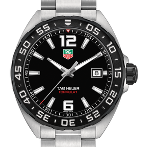 TAG Heuer Formula 1 41mm Black Titanium Bezel Quartz Watch WAZ1110.BA0875