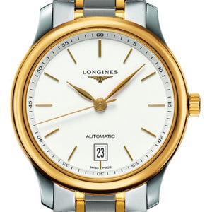 Longines Automatic Master White Dial Stainless Steel and 18k Yellow Gold 38MM L26285127 stamford