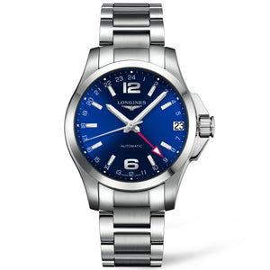 Longines Automatic Conquest Blue Dial Watch 41MM L36874996 fairfield greenwhich
