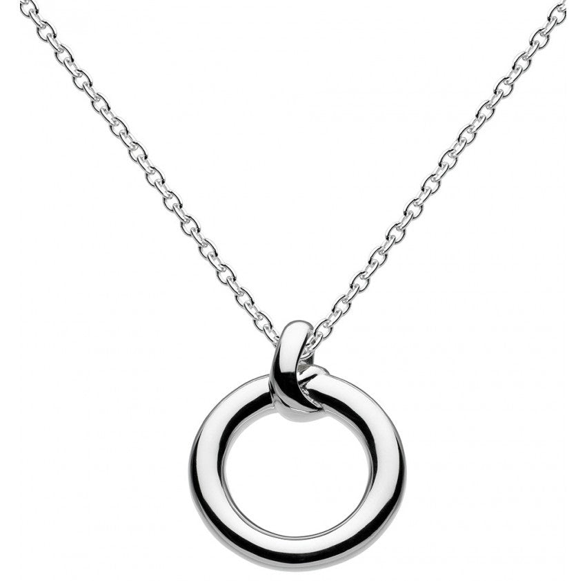Kit Heath Sterling Silver Small Matilda Knot Necklace