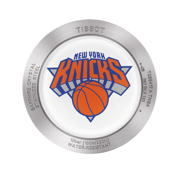 Tissot New York Knicks Quickster Quartz 42mm Blue Orange Watch T0954171703706