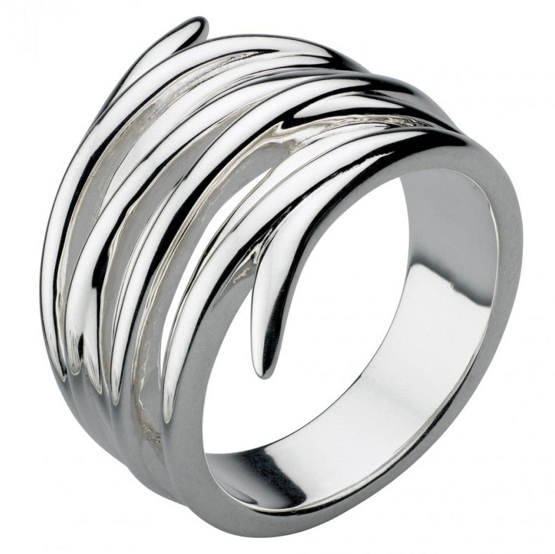 Kit Heath Sterling Silver Helix Wrap Ring