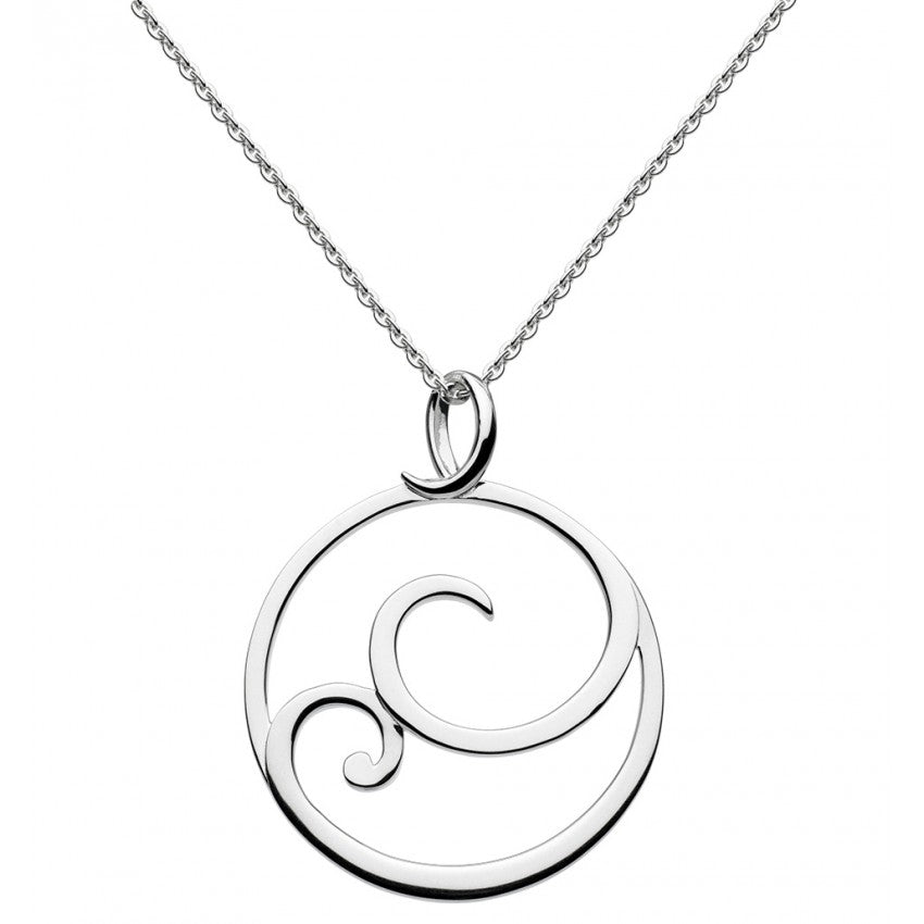 Kit Heath Sterling Silver Celine Necklace Pendant