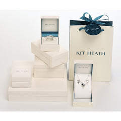 Kit Heath Sterling Silver Small Lotus Necklace