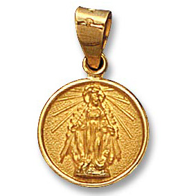 18k Yellow Gold Miraculous Charm