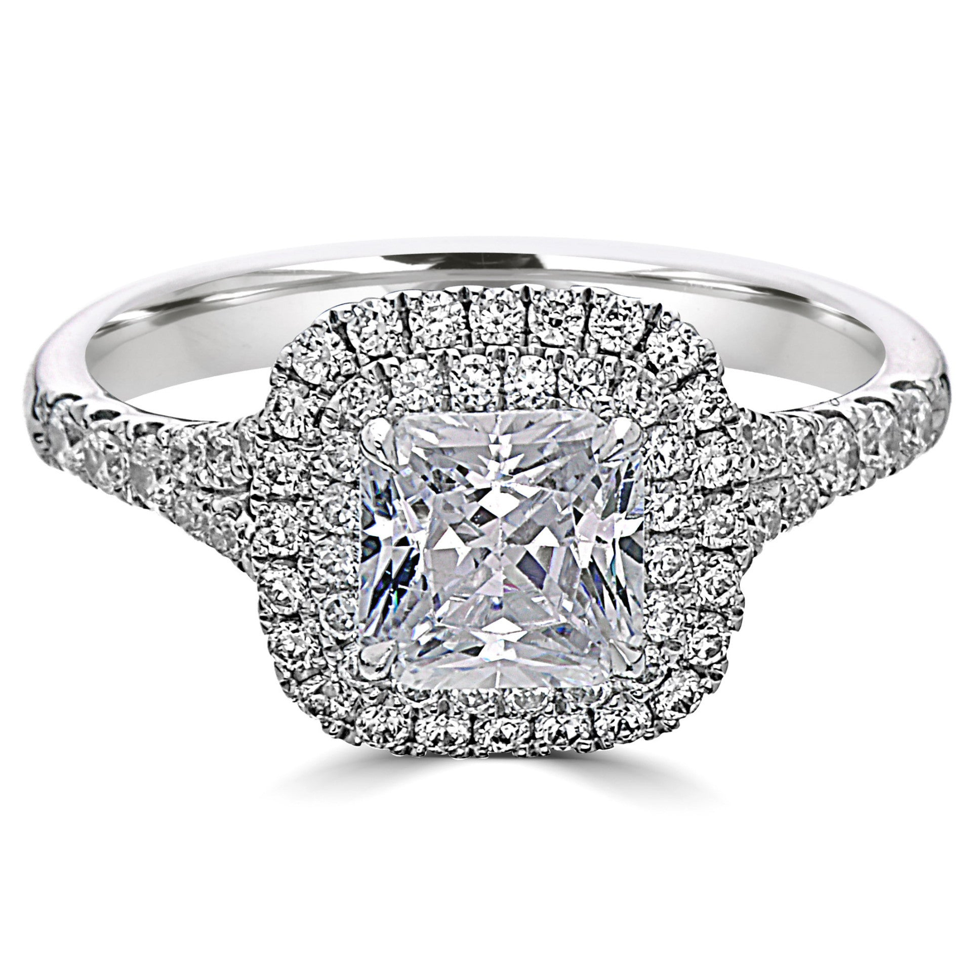 engagement double halo rings ring oval diamond