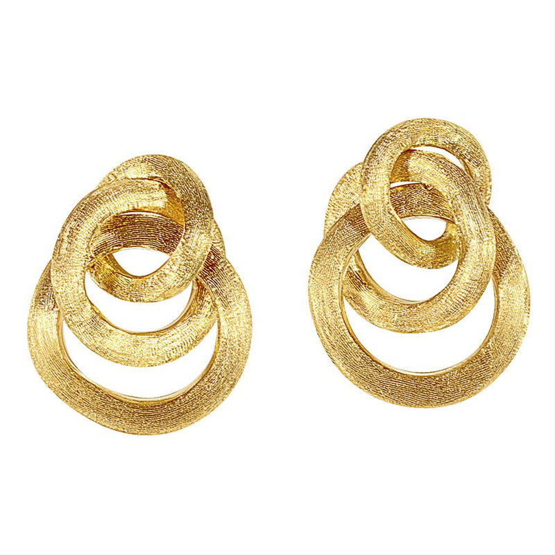 Marco Bicego 18K Yellow Gold Jaipur Dangle Earrings OB938 Y