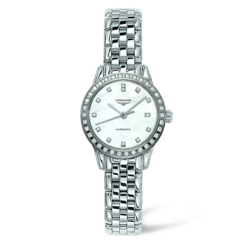 Longines Les Grande Classique Flagship Automatic Mother of Pearl Watch 26MM L42740876 Fairfield county