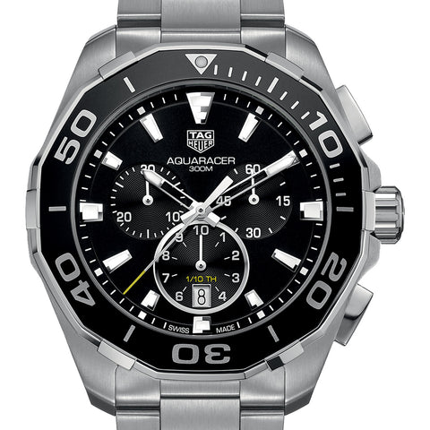 Tag Heuer Aquaracer Chronograph 300M Watch 43MM CAY111A.BA0927