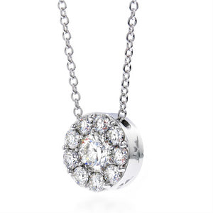 Hearts on Fire Fulfillment Diamond Pendant Necklace .26ct