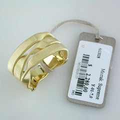 Marco Bicego Marrakech Supreme 18K Yellow Gold Three Strand Ring AG328Y