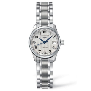 Longines Master Automatic White Dial Arabic Numerals Watch 25MM L21284786