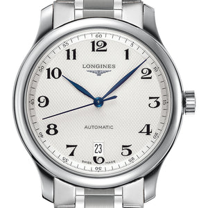 Longines Master Automatic Silver Stainless Steel Watch 38MM L26284786