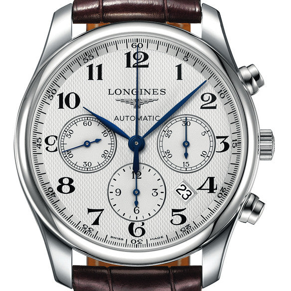Longines Master Automatic Chronograph Stainless Steel Watch 42MM L27594783
