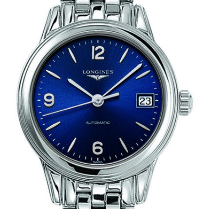 Longines Flagship Automatic Blue Stainless Steel Watch 26MM L42744966