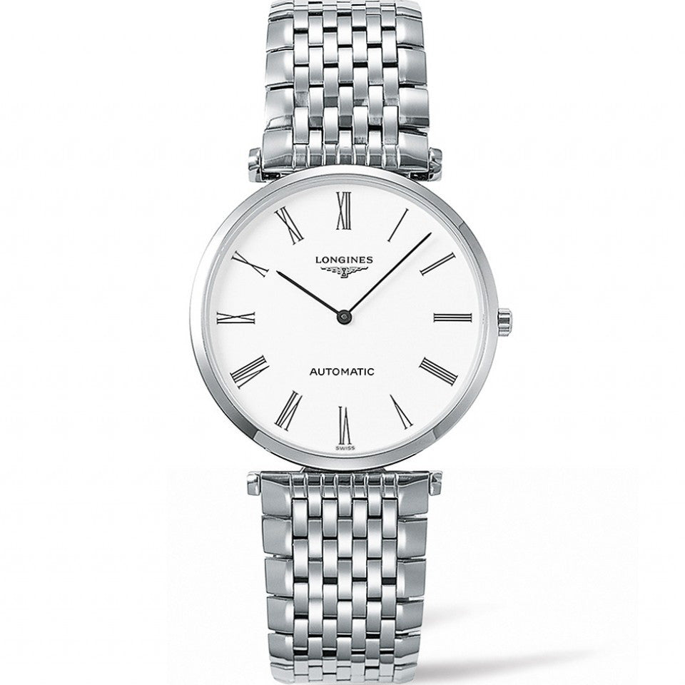 Longines La Grande Classique Automatic White Dial Stainless Steel Watch 36MM L49084116