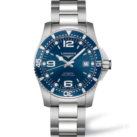Longines HydroConquest Automatic Blue Diving Watch 41MM L36424966