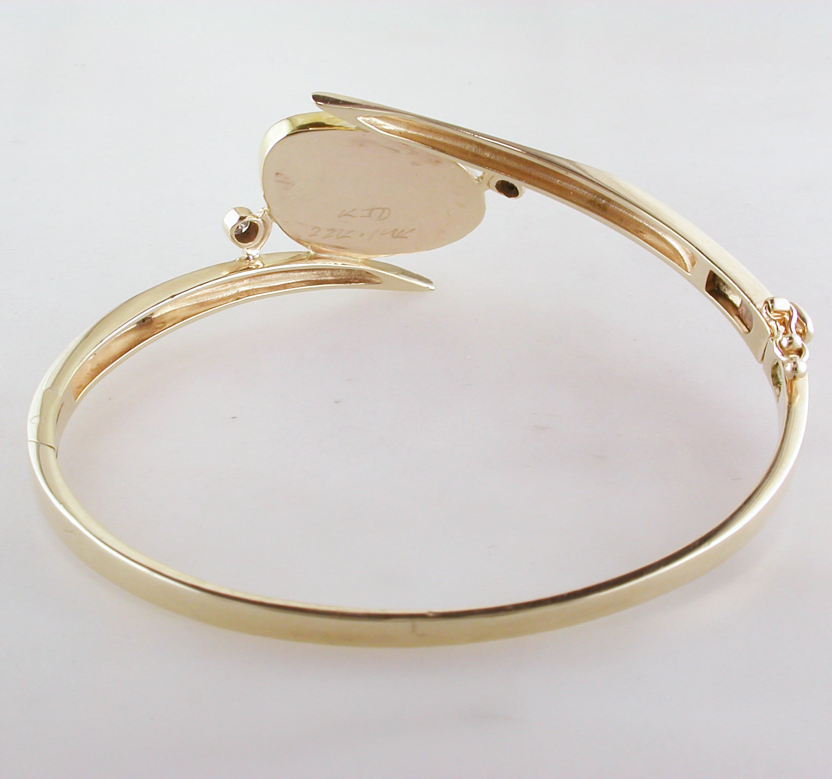 signature bracelets levin bracelet gold silver sterling rose and bangle ed in for women bangles
