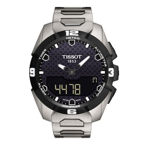 Tissot T-touch Titanium Solar Powered 45MM Watch T0914204405100