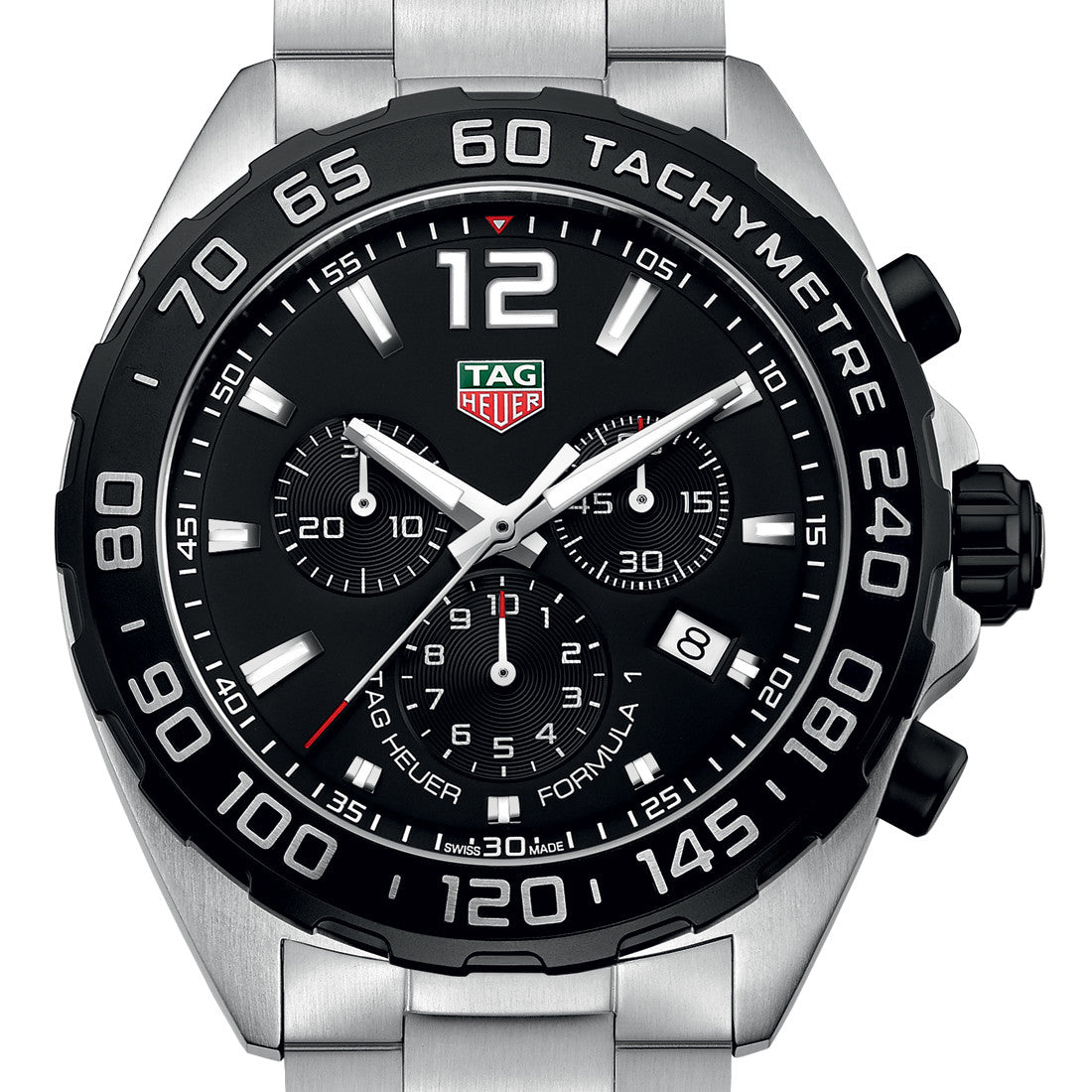 Tag Heuer Formula 1 Chronograph Black Dial Quartz 43MM Watch CAZ1010.BA0842