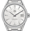 Tag Heuer Carrera Quartz Mother of Pearl Diamond Bezel 32MM WAR1315.BA0778
