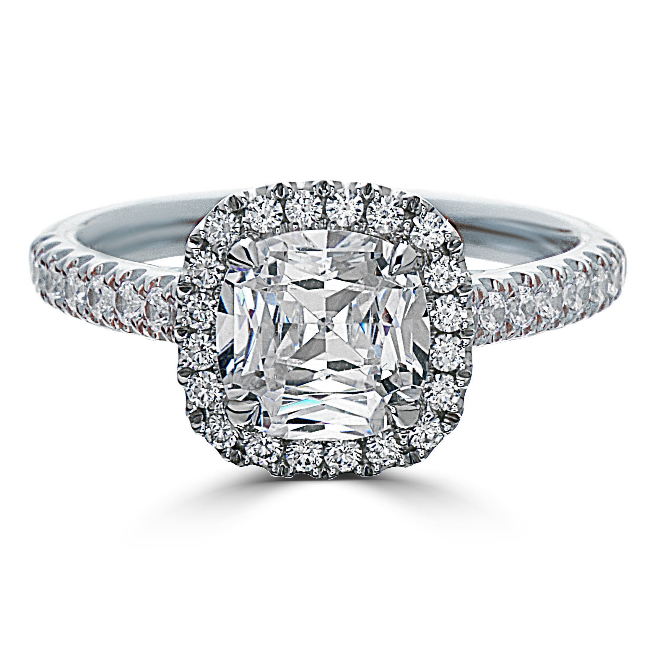 promise round in rings okatwqn ring elegant diamond wedding fashion engagement circular circle of platinum love