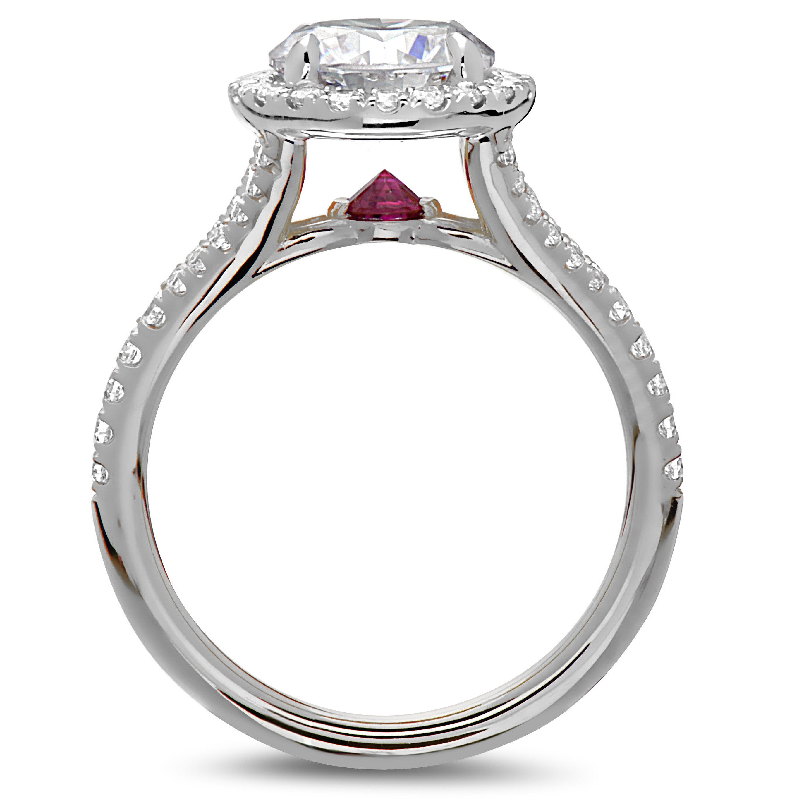 keanes stack rings diamond engagement circular