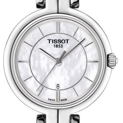 Tissot Ladies Flamingo Quartz Mother of Pearl 26MM Watch T0942101111100