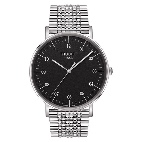 Tissot Big Everytime Quartz Black Dial 42MM T1096101107700