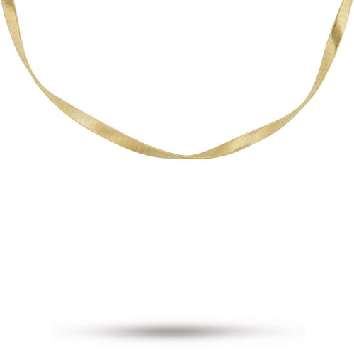 304473461f85a0 Marco Bicego Marrakech Supreme 18K Yellow Gold Single Necklace CG723 Y