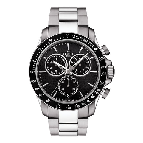 Tissot Gents V8 Chronograph Quartz Black Dial 42.5MM Watch T1064171105100
