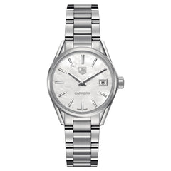 Tag Heuer Ladies Carrera Mother of Pearl Quartz Watch 32MM WAR1311.BA0778