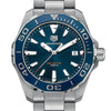 Tag Heuer 300M Aquaracer Blue Dial Aluminum Bezel Stainless Steel Watch 41MM WAY111C.BA0928 stamford norwalk