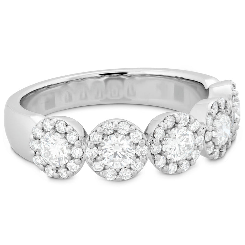 Hearts On Fire's most popular style, the Fulfillment Round Band